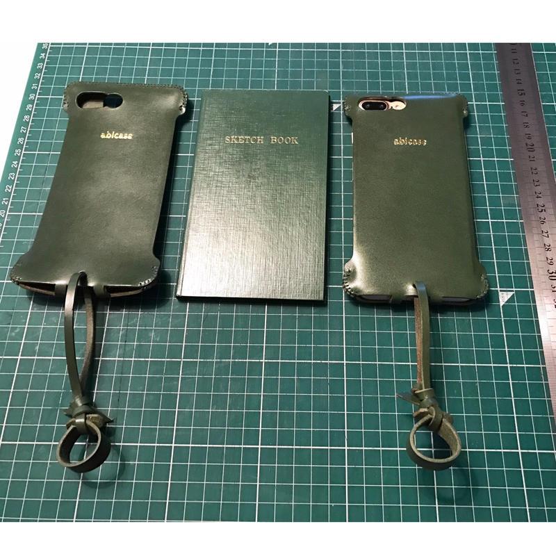 【在庫有り】iPhone7 Plus sj  シンプルジャケット  野帳タイプ