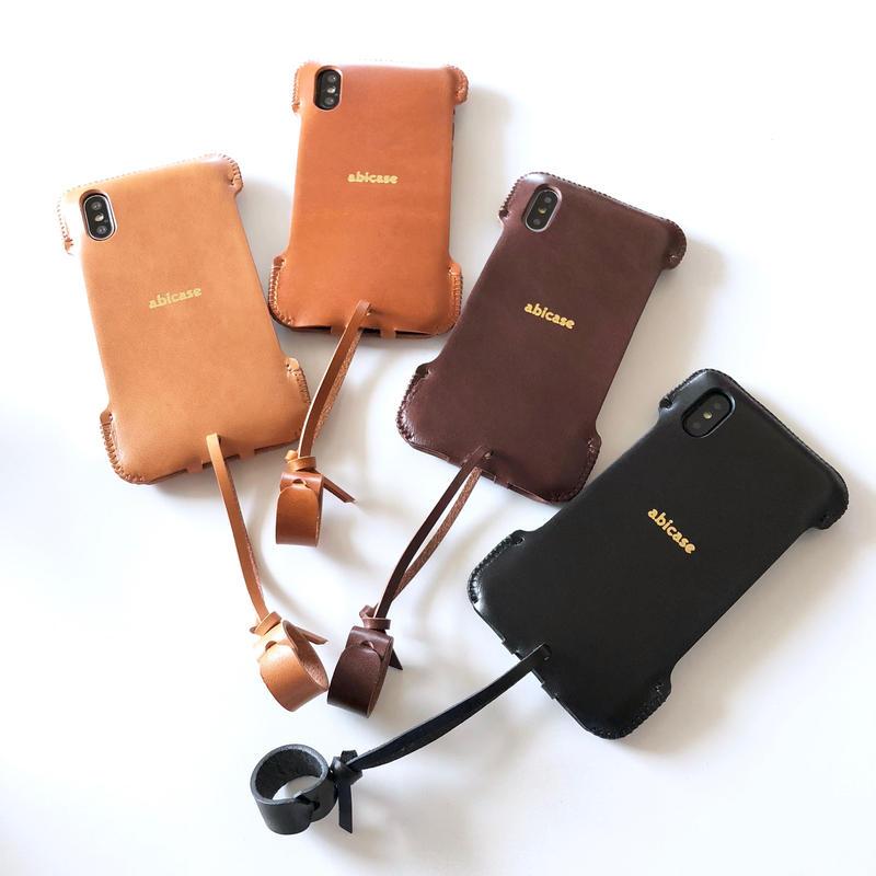 【予約受付】abicaseXSJ/iPhoneX用シンプルジャケット