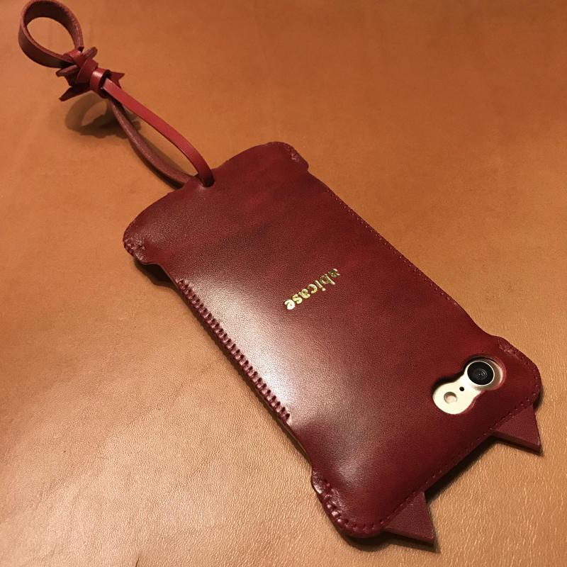【予約受付】iPhone7  nswj  neco ルガトレッド赤猫