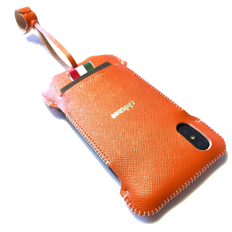 サンプルセール/abicaseXRWJ/iPhoneX用リボンウォレットジャケット