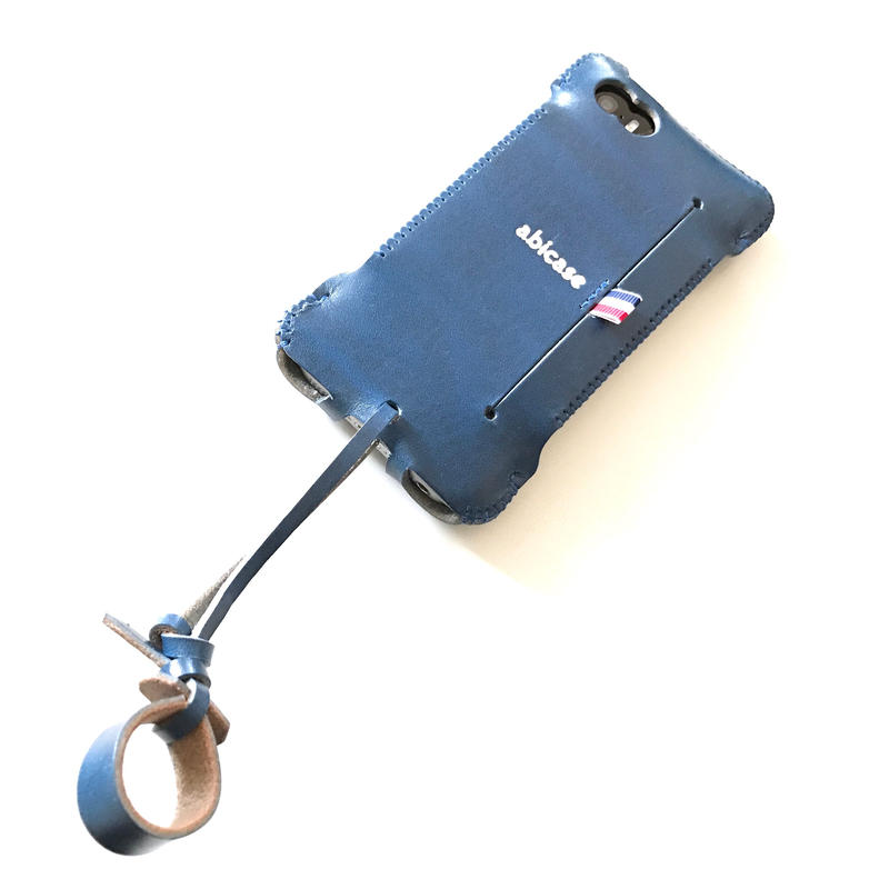 【1点物】iPhone SE cwj |ルガトブルーウォレットジャケット