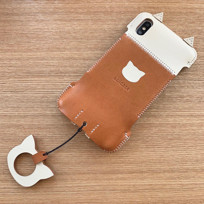 【iPhone XS Max】猫ジャケット