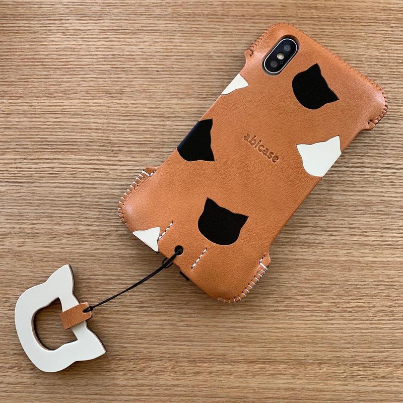 1点物【iPhone XS 】猫ジャケット