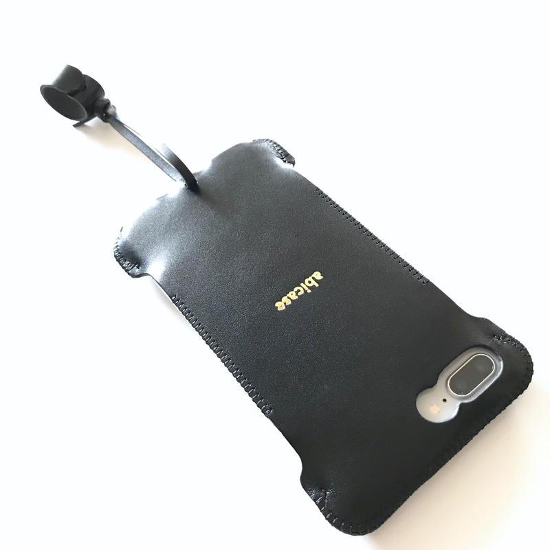 【予約受付】abicase8PWJ /iPhone8Plus用ウォレットジャケット