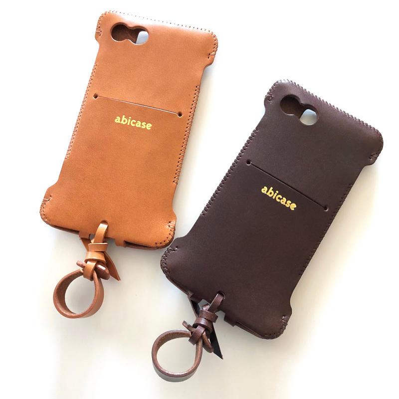 【在庫限り】iPhone7用(8もOK)スリットウォレットジャケット
