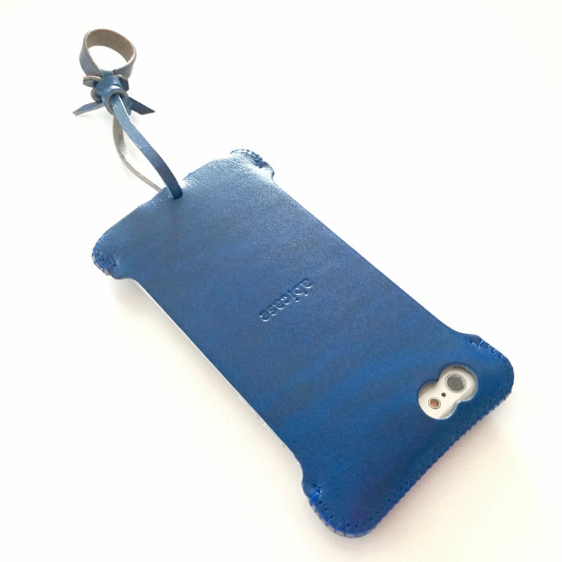 【ルガトブルー】iPhone 6s cj シンプルジャケット
