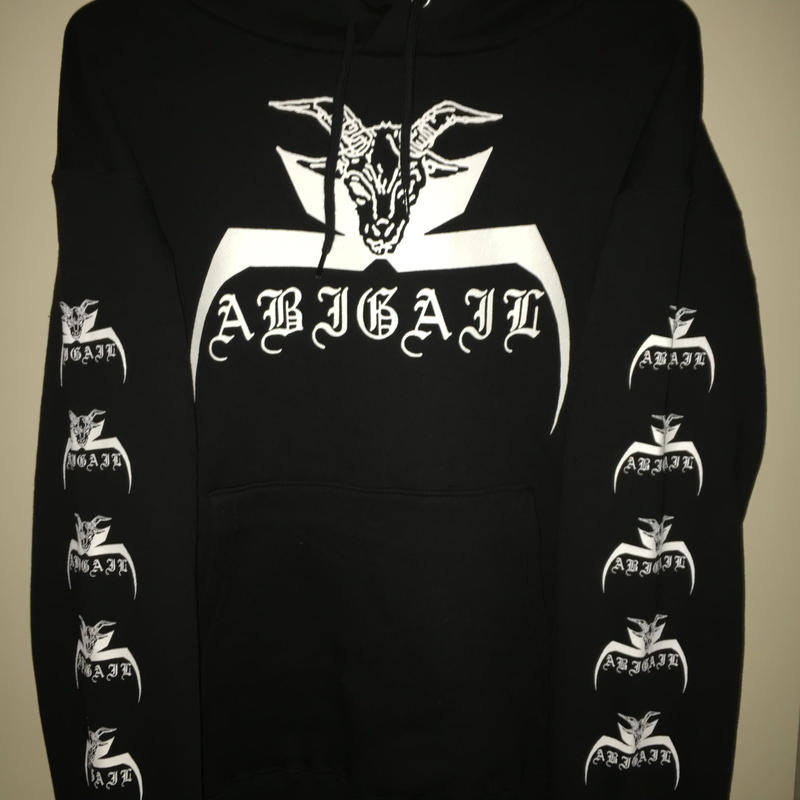 "Abigail ""Eastern black  metal  yakuza 94"" Hooded sweat shirts"