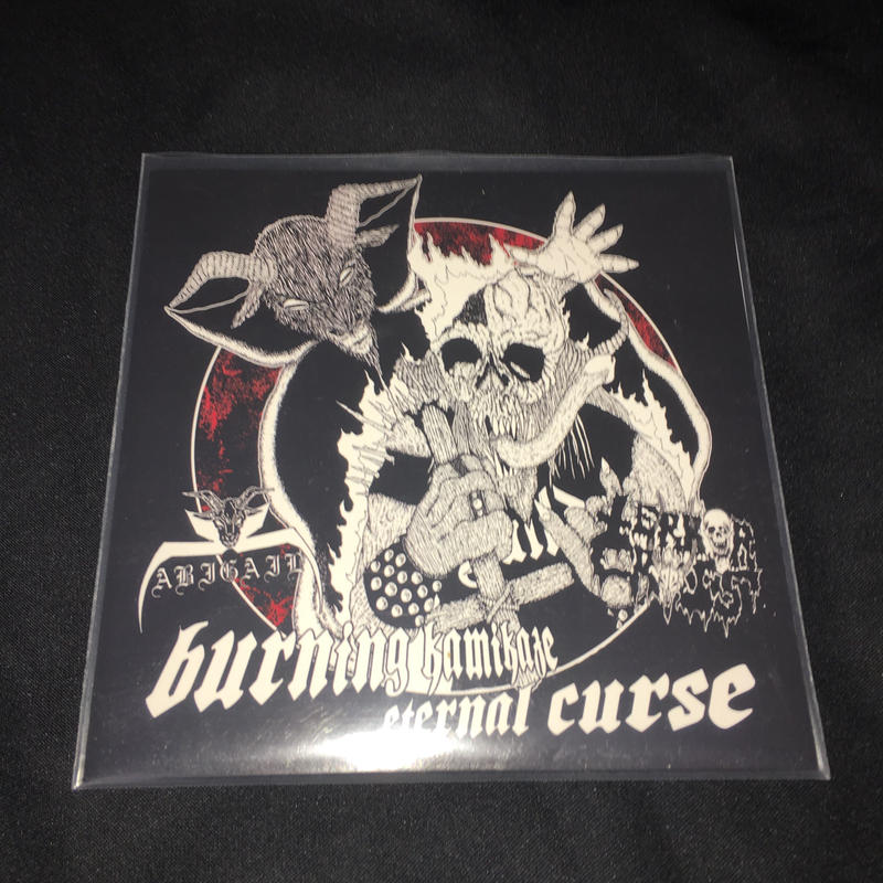 "Abigail ""Burning kamikaze eternal curse""  Split 7'ep with Terror Cross"