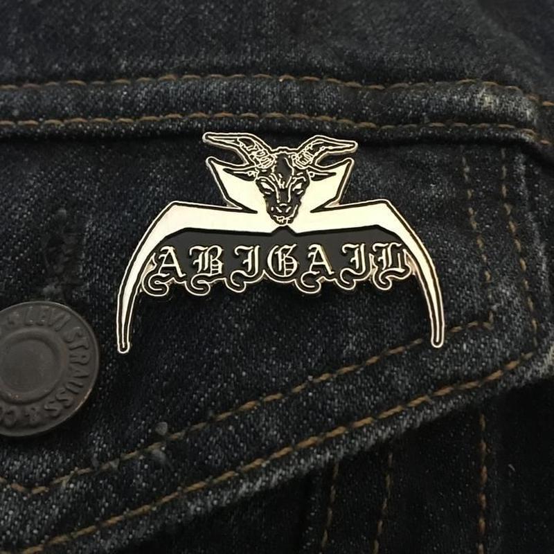 Abigail Logo Enamel Pin