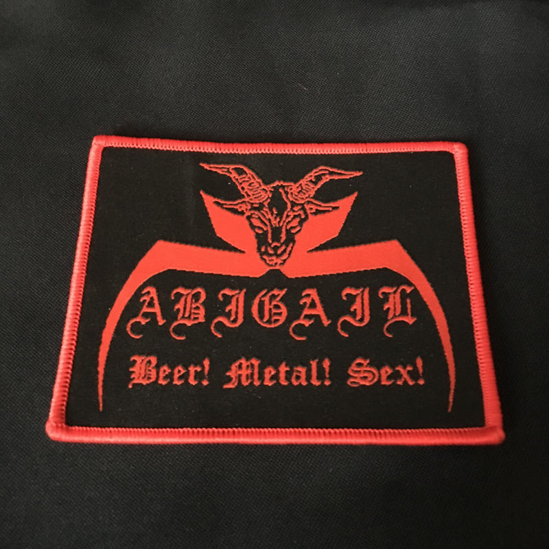 Abigail Official Woven Patch Band Logo
