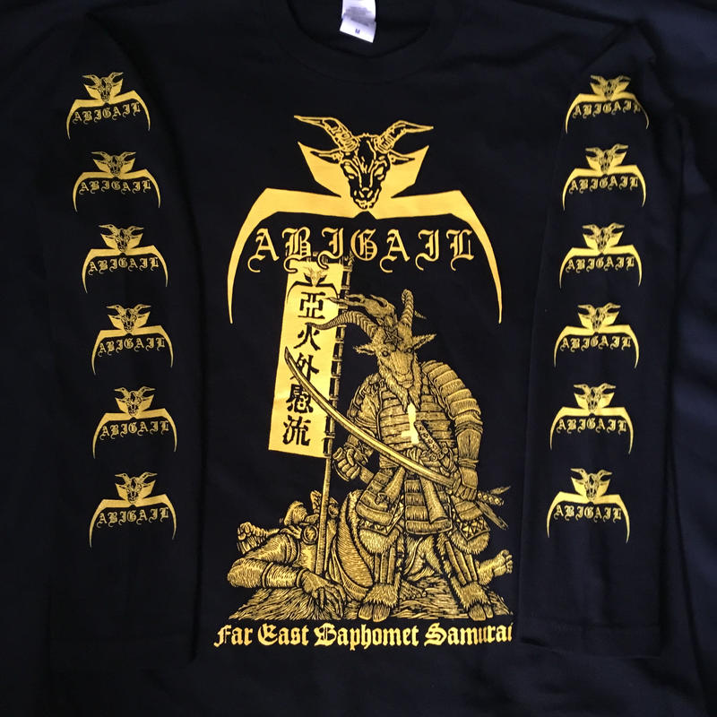 "Abigail ""Far East Baphomet Samurai"" Long sleeve Shirts"