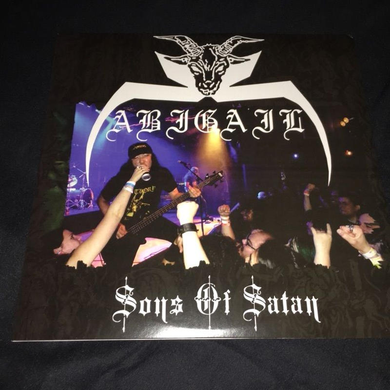 "Abigail ""Sons of Satan"" Split LP with Profane Creation"