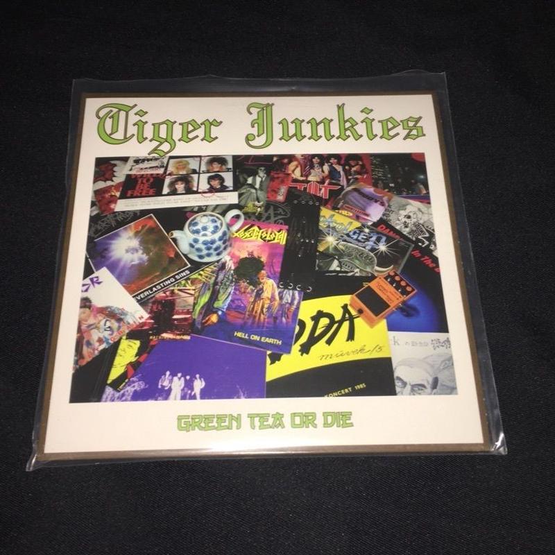 """Tiger Junkies """"Green Tea or Die"""" 7'ep"""