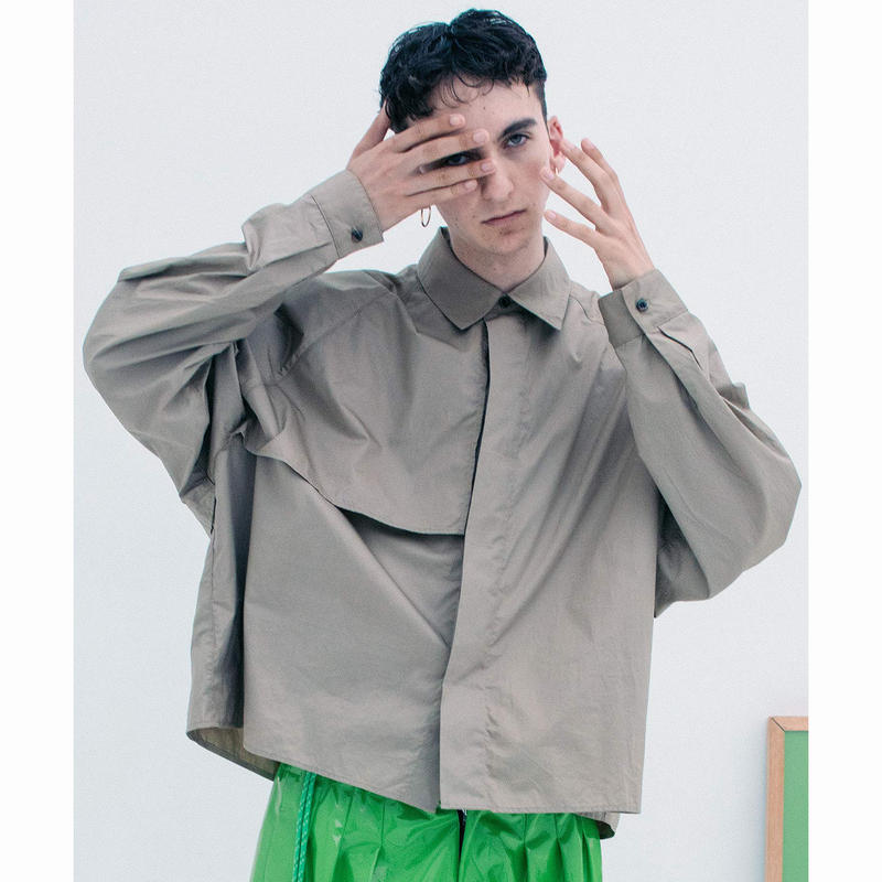 JieDa ジエダ / TRENCH SHIRT トレンチシャツ / Jie-19S-SH01