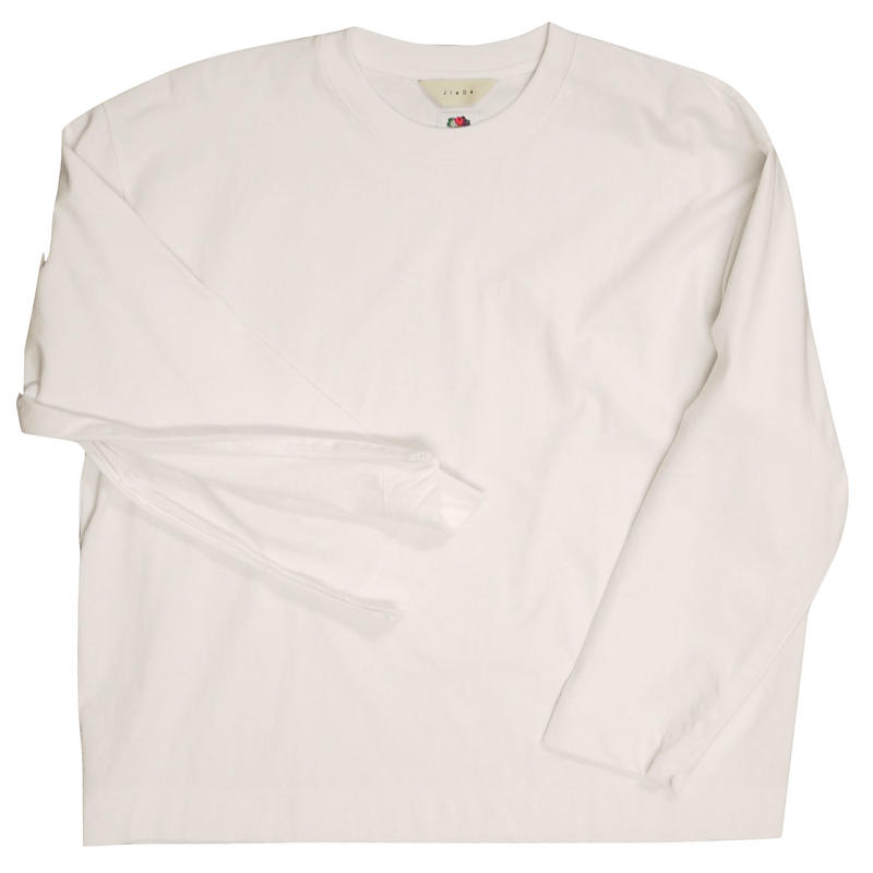 JieDa ジエダ / FRUIT OF THE LOOM ZIP L/S フルーツオブザルーム ジップ長袖Tシャツ / Jie-19W-CT08