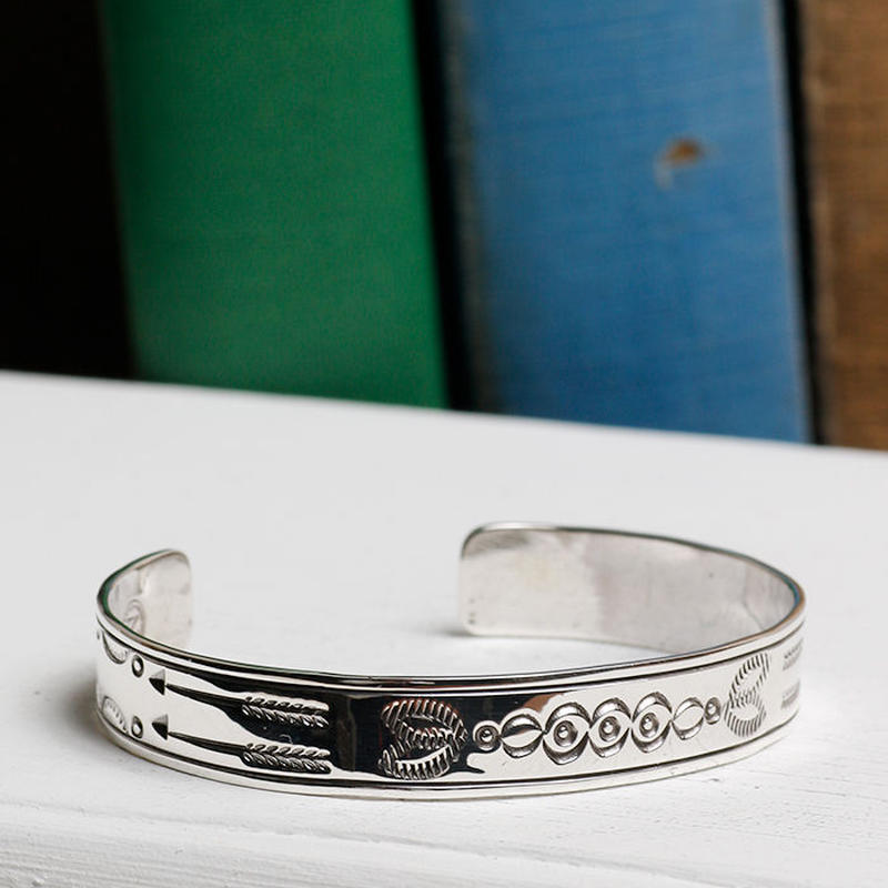 NORTH WORKS 900silver bangle W-316