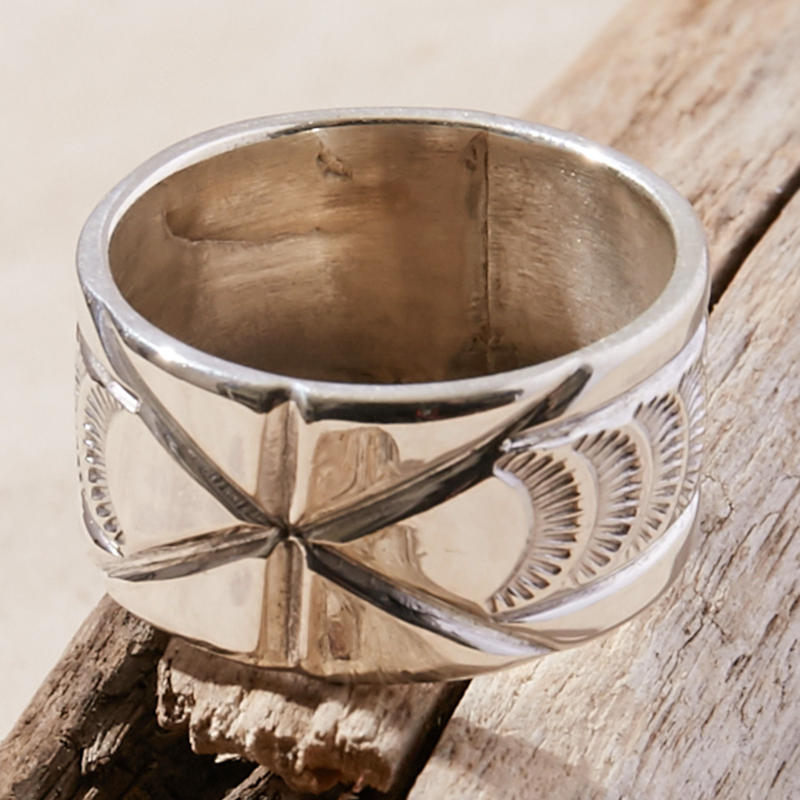 NORTH WORKS 900silver ring W-417