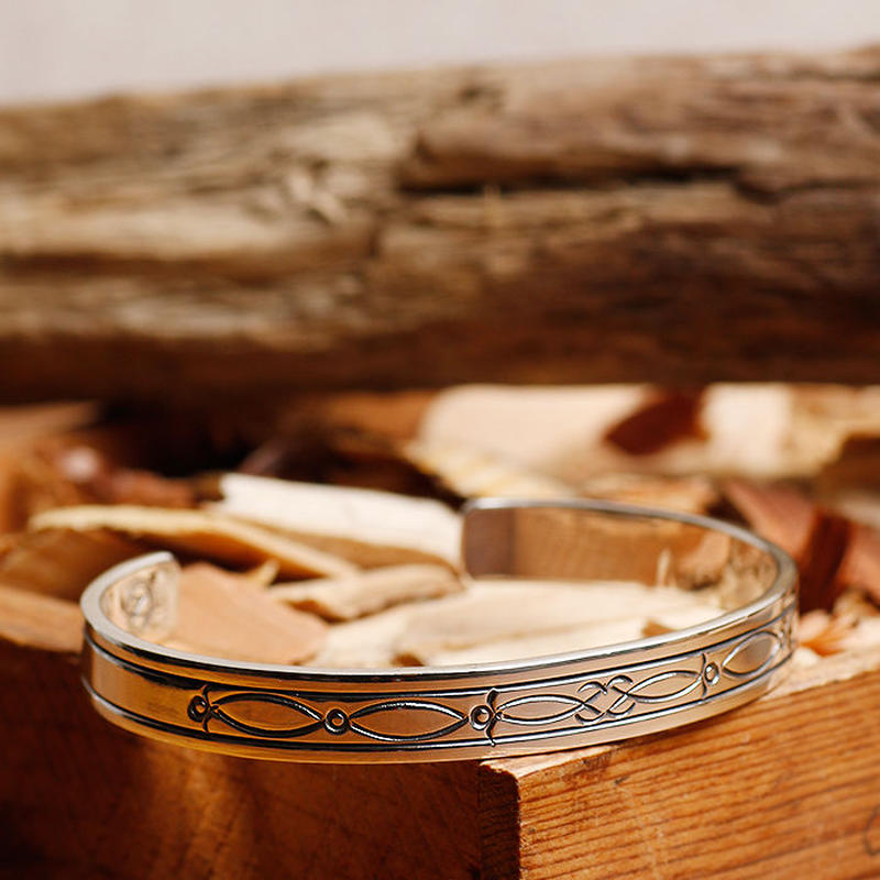 NORTH WORKS 900silver bangle S W-204