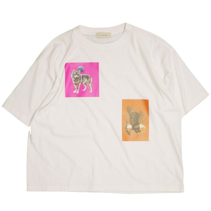 JieDa ジエダ / ANIMAL T-SHIRT アニマルプリントTシャツ / Jie-19W-CT11