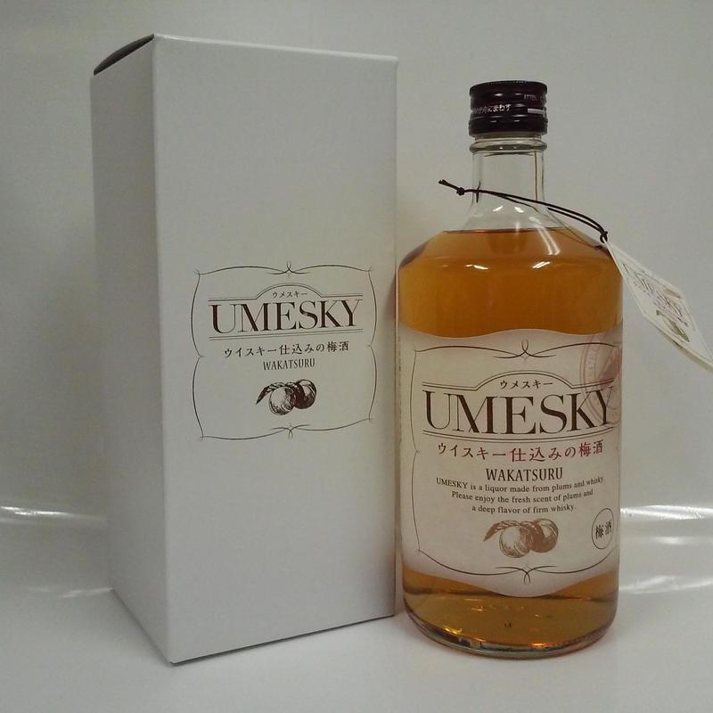 若鶴酒造 UMESUKIY《ウメスキー》24% 720ml