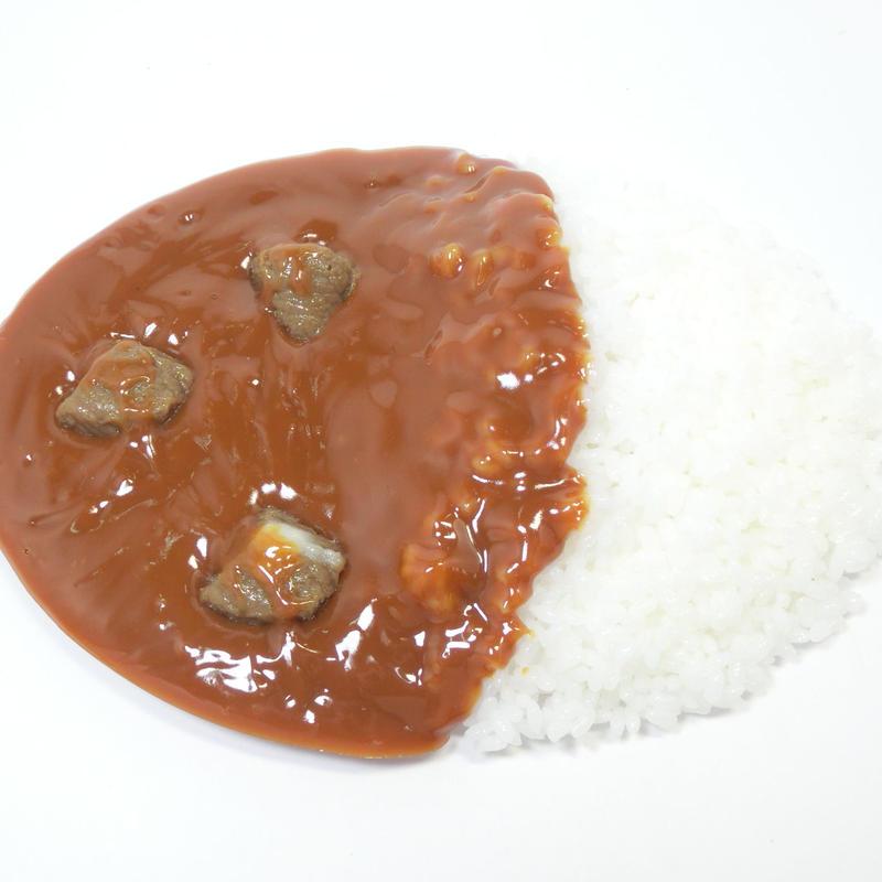カレーライス小判型