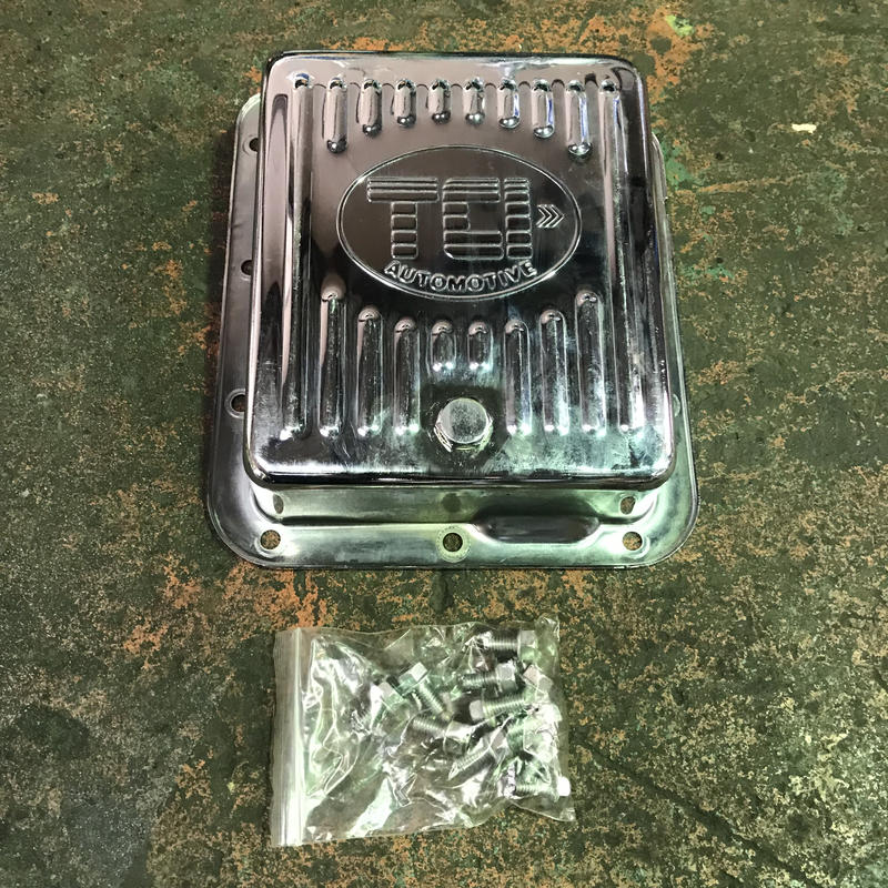 (077)Ford C4 トランスミッション クローム オイルパン