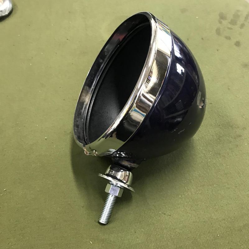 (022)7インチ ヘッドライト ハウジング 中古 キズアリ