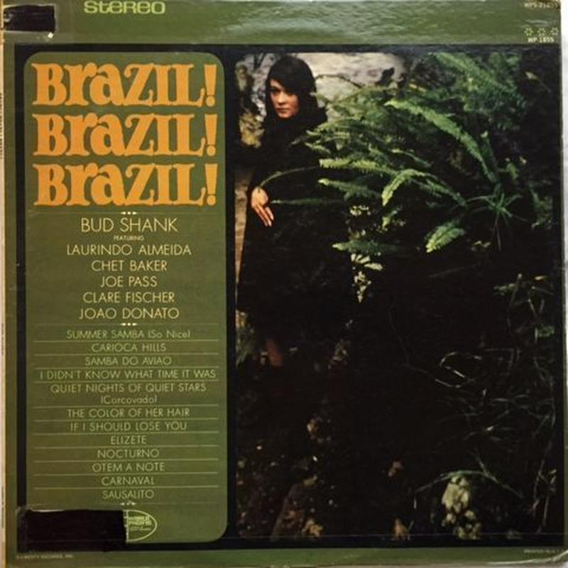 Bud Shank – Brazil! Brazil! Brazil!