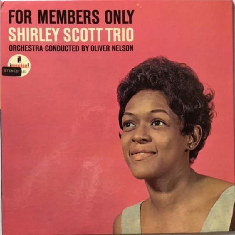 Shirley Scott Trio ‎– For Members Only