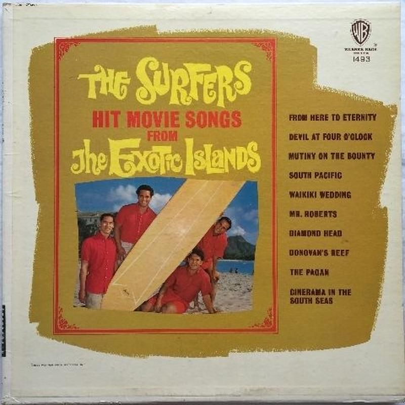 Surfers, The – Hit Movie Songs From The Exotic Islands