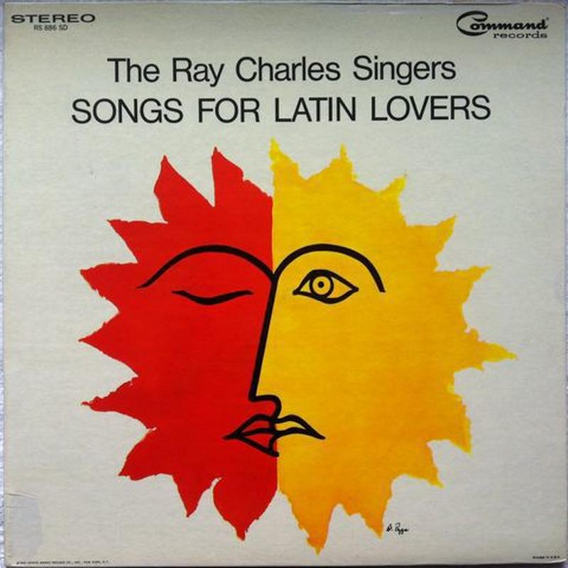 Ray Charles Singers, The – Song For Latin Lovers