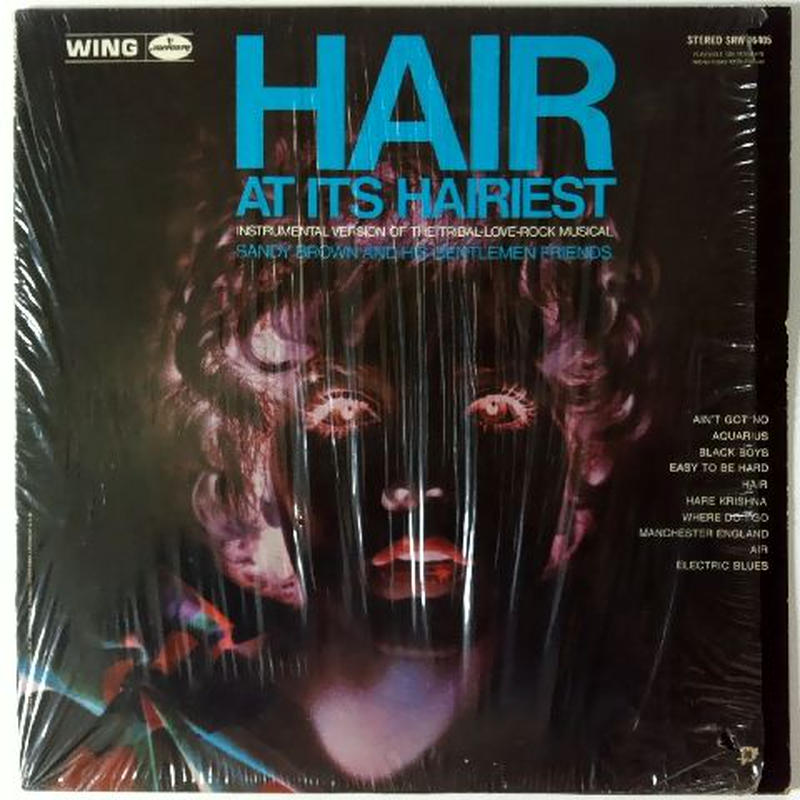 "Sandy Brown And His Gentlemen Friends – ""Hair"" - At It's Hairiest"