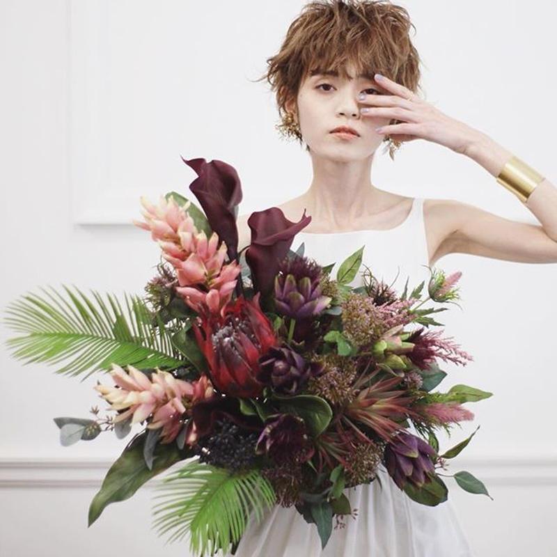 【レンタル】big bouquet[protea]