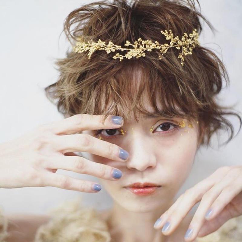 gold branch crown