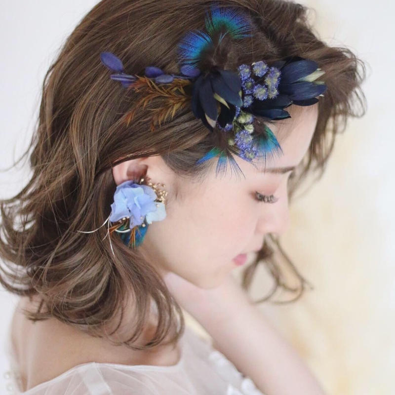 headdress【ailes-blue】