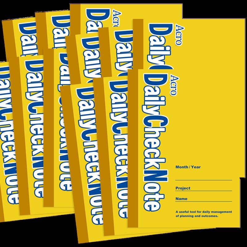 AcroDailyCheckNote   A4サイズ(12冊)