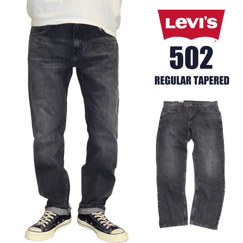 リーバイス 502 デニムパンツ Levi's 502 レギュラーテーパード REGULAR TAPER GREY STUCCO