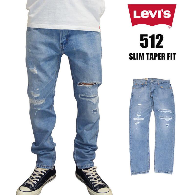 リーバイス 512 LEVI'S 512 デニムパンツ SLIM TAPER スリムテーパーフィット ジップフライ ストレッチ ジーンズ MAX WARP  28833-0283 USAライン