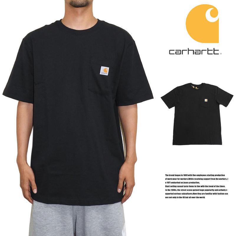 CARHARTT カーハート ポケットTシャツ US規格 K87 ブラック
