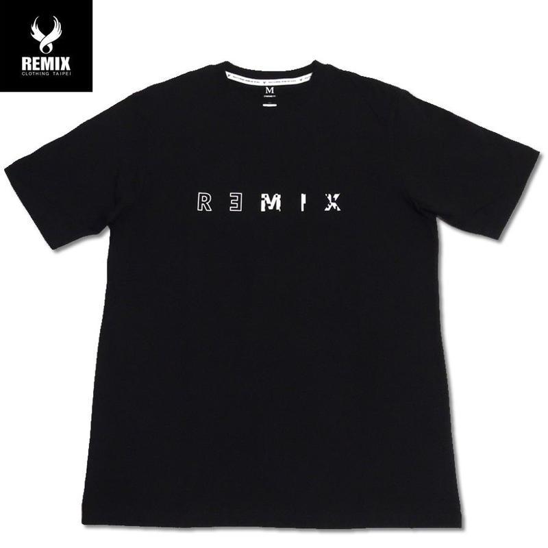 REMIX TAIPEI【リミックス】 Tシャツ メンズ 半袖 ブラック Mサイズ