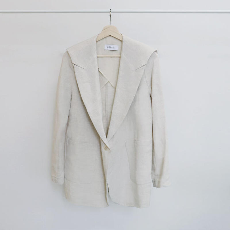 [ sample SALE ] linen sailor jacket