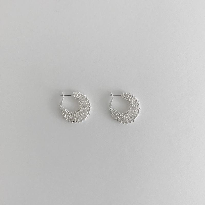 solid moon earrings
