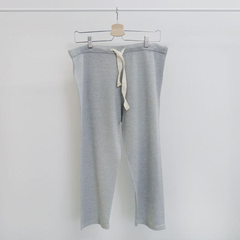 [ sample SALE ] smooth knit pants