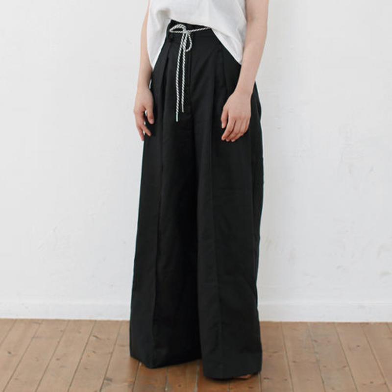 high waist wide linen pants