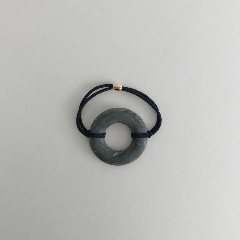 marble ring hair tie
