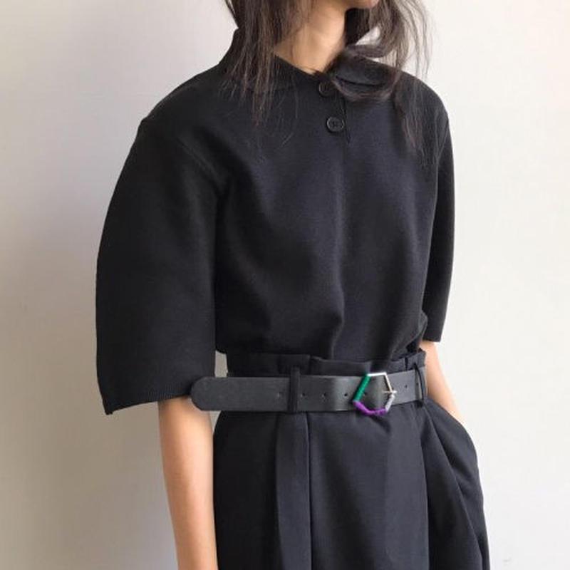 -3 colors-classical knit top