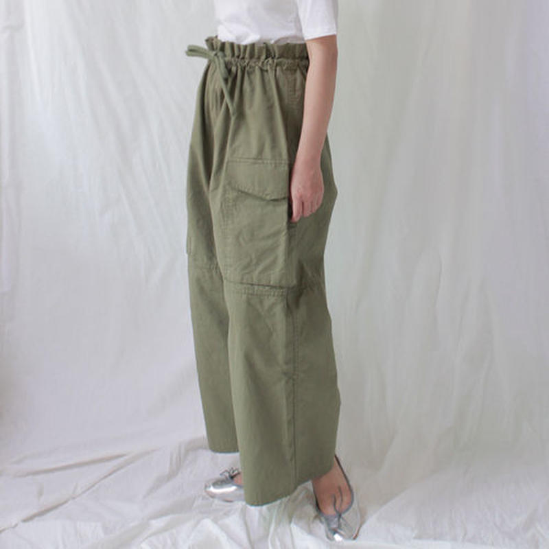 high waist volume work pants