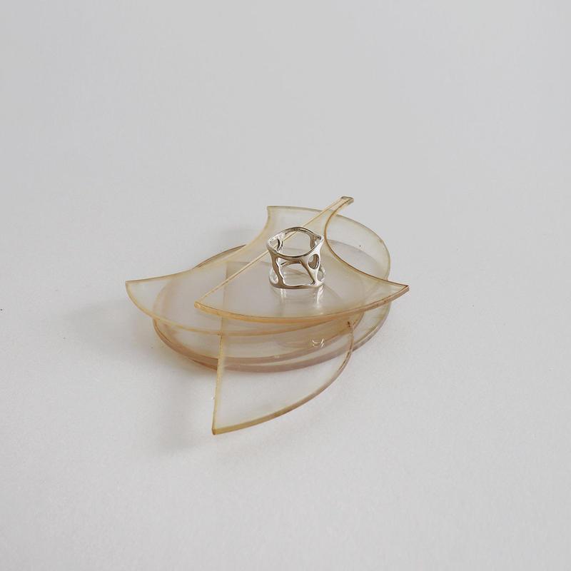 -silver 925- ladder ring