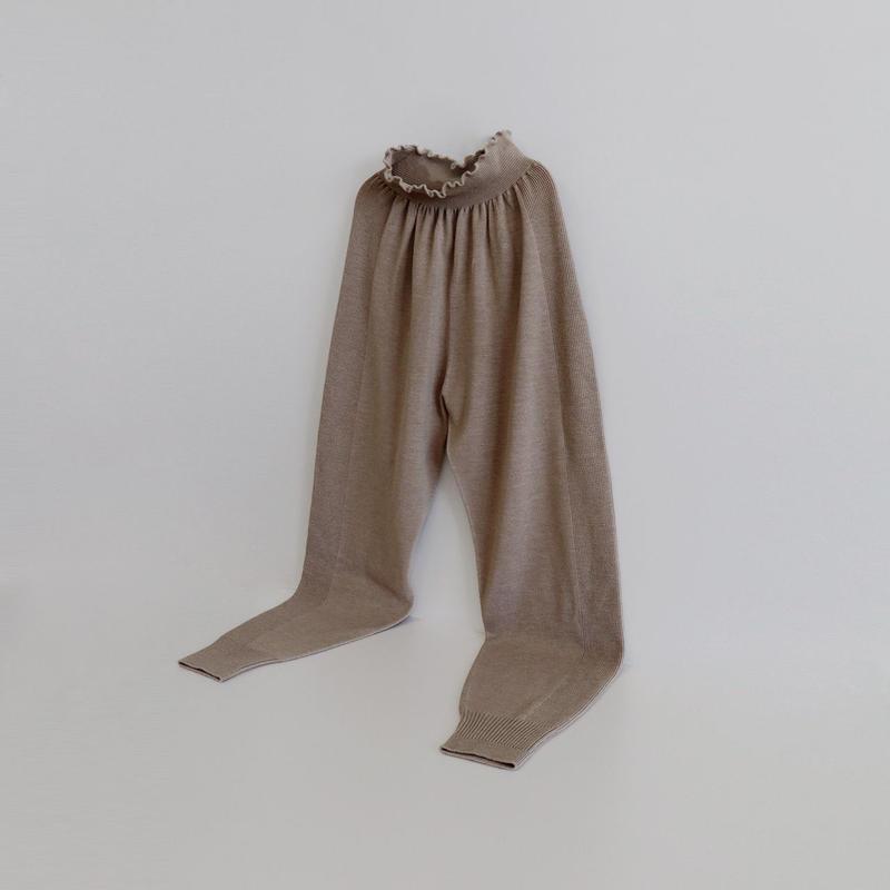 whole garment knit pants