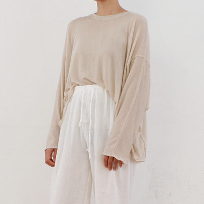 delicate over fit tee